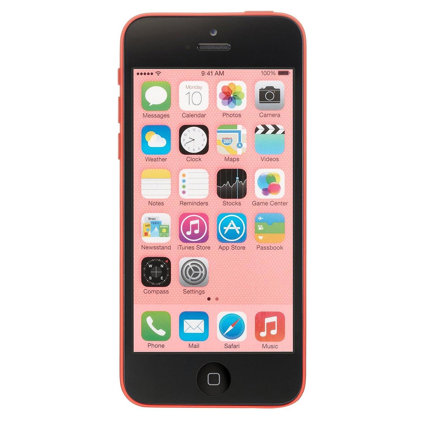 Apple iPhone 5C, GSM Unlocked, 8GB - Pink (Refurbished)