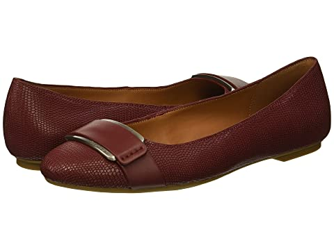Oneta, Red Rock Shiny Lizard/Cow Silk, Red Rock Leather