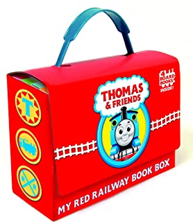 Thomas and Friends: My Red Railway Book Box (Thomas & Friends): Go, Train, Go!; Stop, Train, Stop!; A Crack in the Track!;...