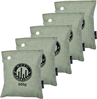 5X 500 Gram Bamboo Charcoal Bag