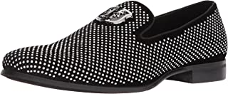 Men's Swagger Studded Ornament Slip-on Driving Style Loafer
