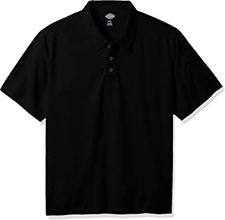 Dickies Men's Short Sleeve Tactical Polo Shirt Big