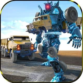 City Garbage Robot Truck Driver Simulator: Garbage Truck Games