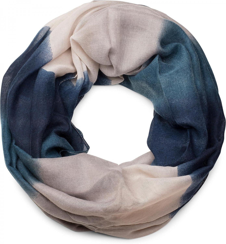 unisex 01018097 styleBREAKER sciarpa tubolare scaldacollo sfumata a righe