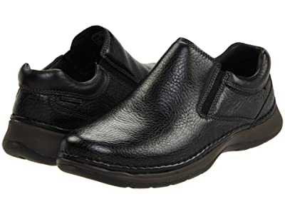 Hush Puppies Lunar II (Black Leather) Men