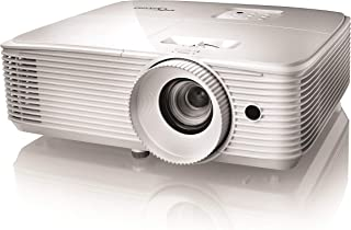 Optoma HD27e, Proyector Gaming Home Cinema Full HD 1080p, Formato 16:9, 3400 Lúmenes, Blanco
