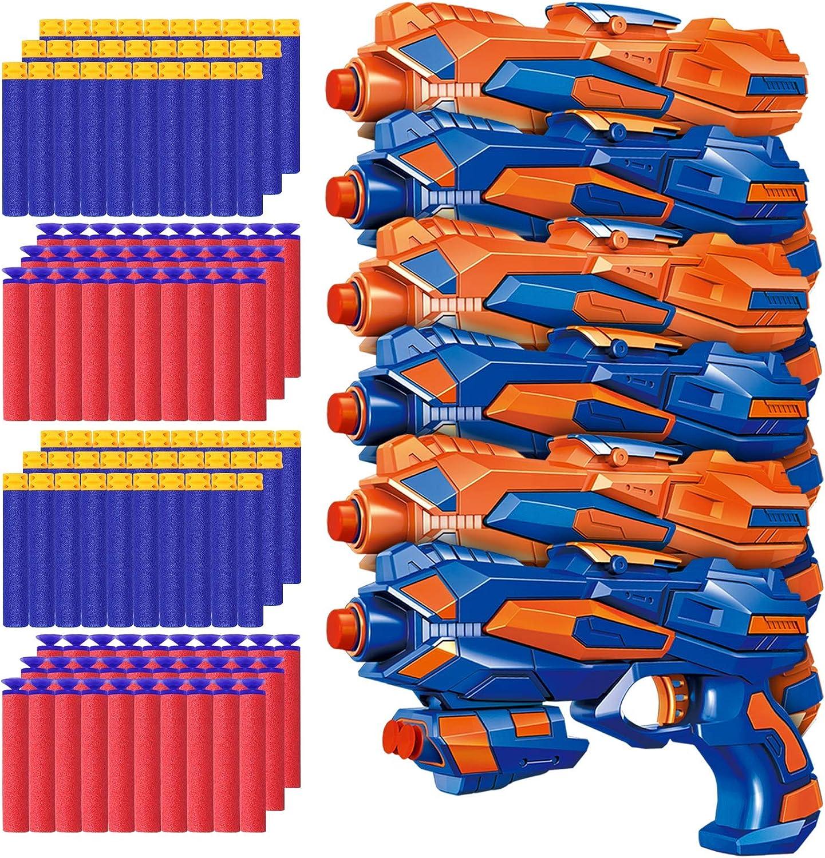 POKONBOY 6 Pack online shop Blaster Toys Guns Boys Fit Bullets for Nerf Recommendation