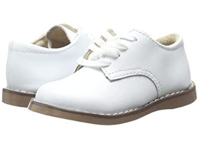 FootMates Willy 3 (Infant/Toddler/Little Kid) (White) Boy