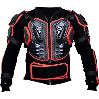 Binwe Armatura Moto Protezione di Motocross Giacca Moto Corpo Indumenti di Protezione Completa Moto Professionale Sportivo per Donna Uomo Adulto Spina Dorsale Motociclista