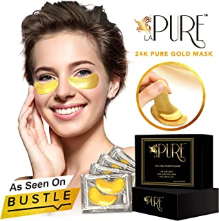 Sponsored Ad - LA PURE 24K Gold Eye Treatment Masks - Under Eye Patches, Dark Circles Under Eye Treatment, Under Eye Bags ...