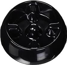Dogit Go Slow Anti-Gulping Dog Bowl, Slow Feeding Dog Dish Suitable for Wet Or Dry Food, Large, Black