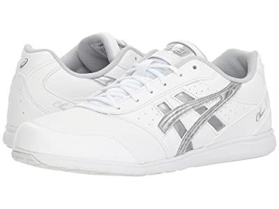 ASICS Cheer 8 (White/Silver/Exchange) Women