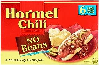 Hormel Chili No Beans - 6/15 oz.