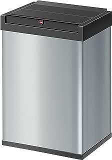 Hailo Big Box  Swing Waste Bin in Silver 35 Liters