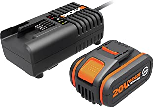 WORX WA3604 Battery & Charger Kit Powershare™ 20V 4.0Ah MAX Lithium-ion Battery & Charger Kit