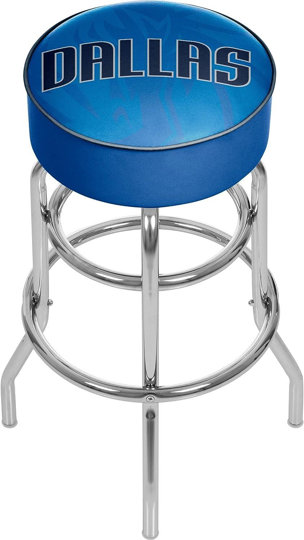 Superior Trademark Gameroom NBA1000-DM2 NBA Padded Stool Fad Swivel Reservation - bar
