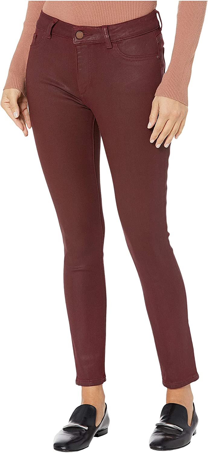 Max 65% OFF DL1961 Florence Mid-Rise Ankle Skinny in Merlot Spasm price