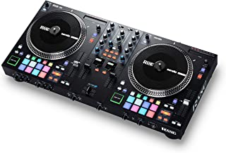 RANE ONE - Complete DJ Set and DJ Controller for Serato DJ with Integrated DJ Mixer, Motorized Platters and Serato DJ Pro ...