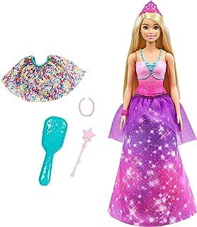 Barbie Dreamtopia 2-in-1 Princess to Mermaid Fashion...