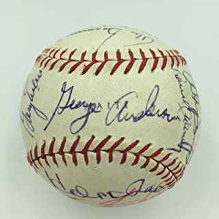 1970 Cincinnati Reds Team Signed Baseball The Big Red Machine COA - PSA/DNA Certified - Autographed Baseballs
