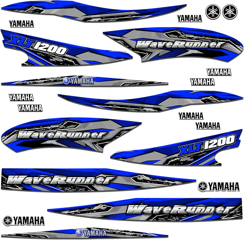 AMR High order Racing Jet Ski Graphics Trim Compatible Decal kit Sticker Super intense SALE wi