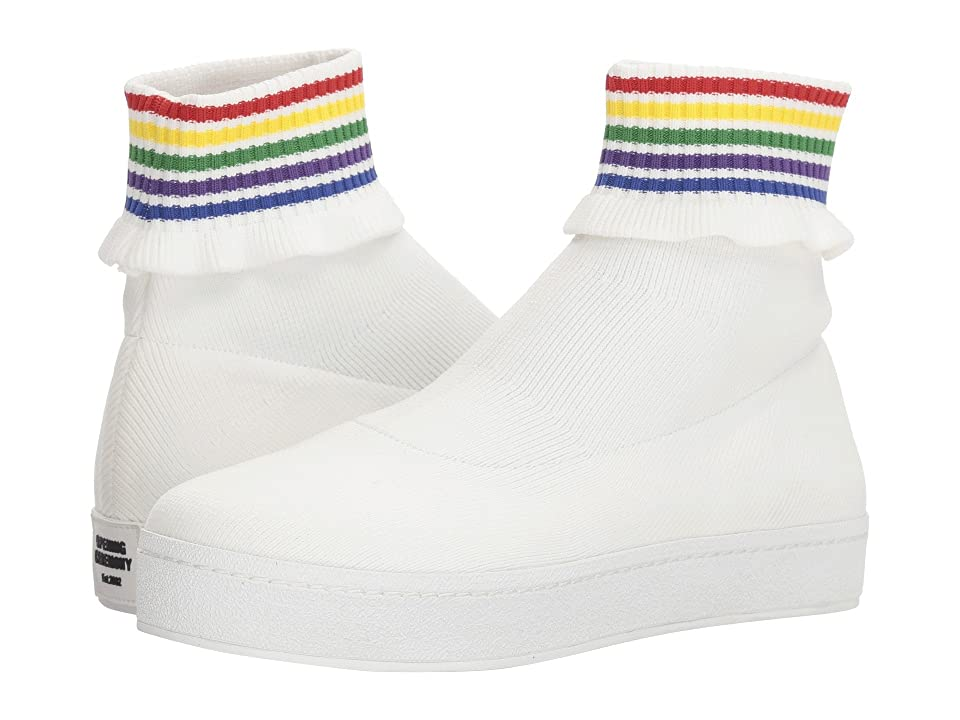 Opening Ceremony Bobby Slip-On (White Multi) Women