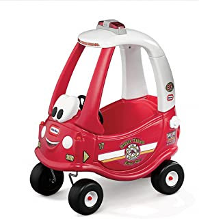 Little Tikes Ride n Rescue Cozy Coupe, Red with White Roof