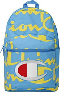 Champion Men's SuperCize Backpack,  Blue/Yellow,  OS