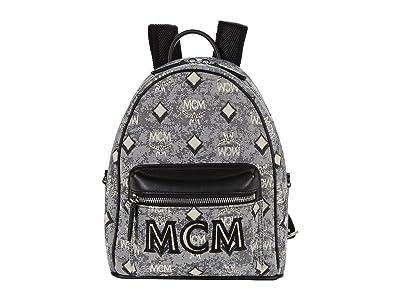 MCM Vintage Jacquard Mini Backpack