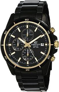 Casio Edifice Chronograph Black Dial Men's Watch - EFR-526BK-1A9VUDF (EX208)