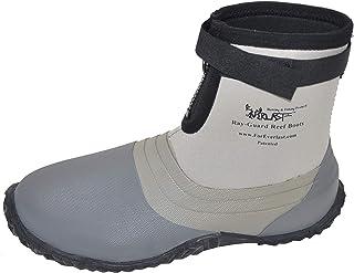 أحذية طويلة ضد أشعة الشمس من فورايفرلاست للرجال والنساء، رمادي، جزء سفلي مطاطي مفلكن، مطاط صناعي، خفيف الوزن، مقاوم للماء