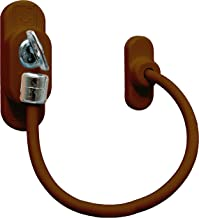 ComfoRED- Child Safety Home Security Window Door Restrictors Lockable Cable (Brown)