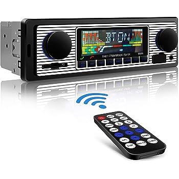 Autoradio Bluetooth, RIXOW Manos Libres Estéreo de Coche