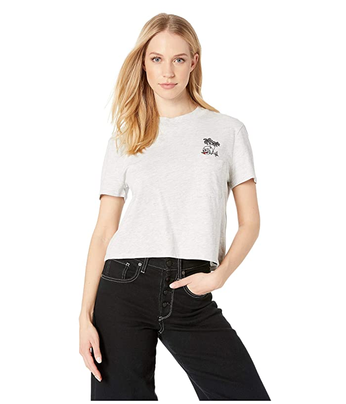 Volcom Stone Grown Womens T-shirt White All Sizes