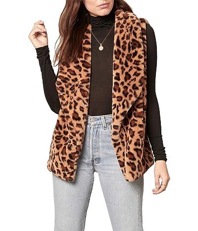 BB Dakota Purr Crazy Vest (Brown) Women