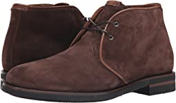 Rusty Brown Oiled Waxy Suede