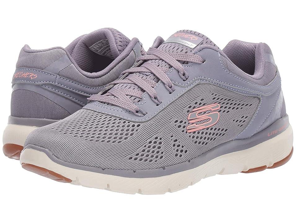 ウイルス結び目番号レディーススニーカー?ウォーキングシューズ?靴 Flex Appeal 3.0 Lavender 7 (24cm) B [並行輸入品]