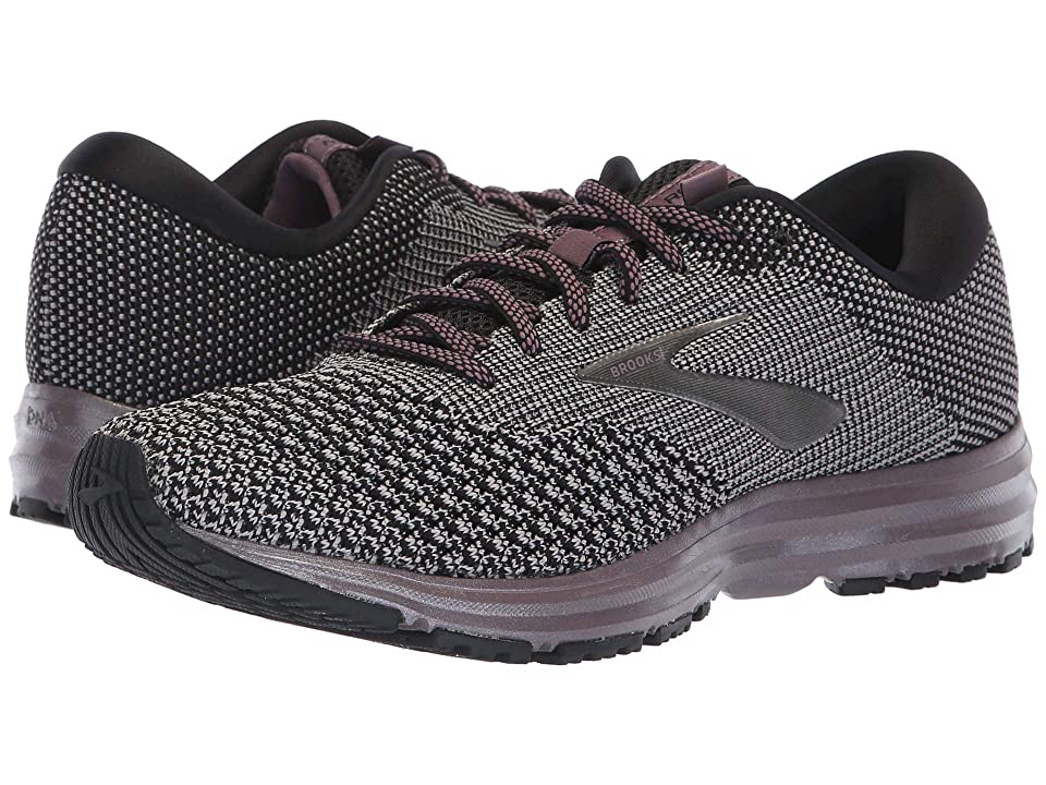 Brooks Revel 2 (Black/Grey/Arctic Dusk) Women