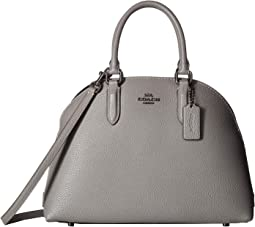 Quinn Satchel in Polished Pebble Leather