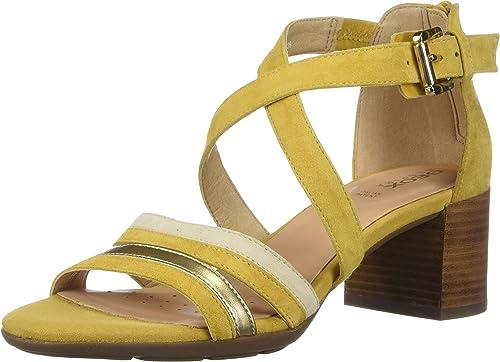 Geox D MarykarHommes Mid Mid Sandal E Bout Ouvert Femme  tout en haute qualité et prix bas