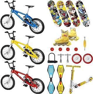 Toys & Games Novelty & Gag Toys VVXXMO 4pcs/set Finger Skateboard ...