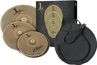 Zildjian LV348 LOW VOLUME L80 13/14/18 BOX SET with Gig Bag