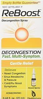 Reboost Decongestion Nasal Spray, 20 Milliliter spray