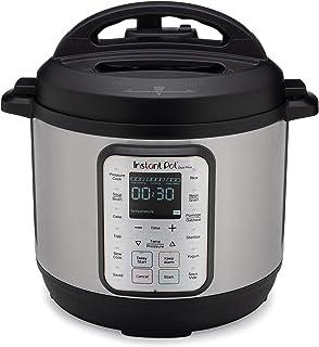 Instant Pot Autocuiseur électrique DUO PLUS 8L.15 programmes intelligents: autocuiseur, cuiseur à riz, mijoteuse, vapeur