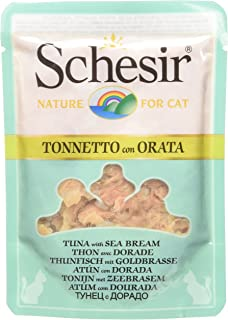 Schesir Gato Sobres 70 gr atun con Dorada en Caldo