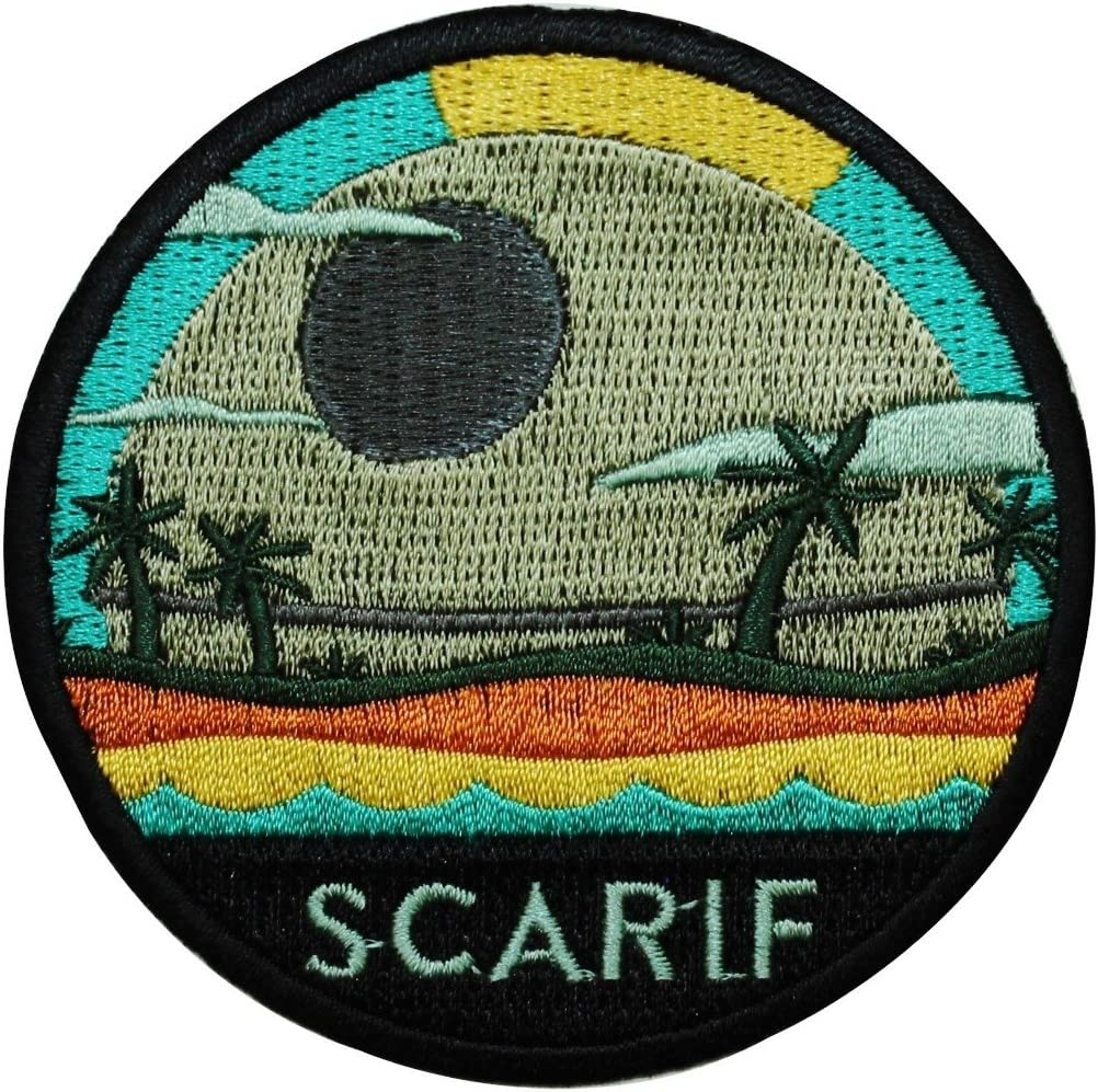 Disney Low price Star Wars Rogue One Patch Planet Scarif Officially Licens Mail order