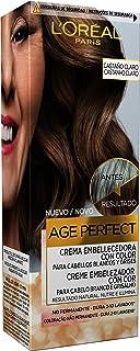 L'Oréal Paris Casting Crème Gloss Age Perfect Crema Embellecedora con Color, Tono Castaño - 3 Paquetes de 116 gr - Total: 348 gr