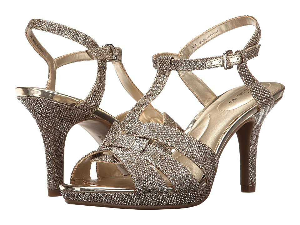Bandolino Sarahi (Gold Glamour Material) Women