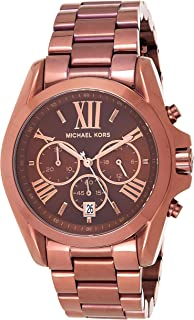 Michael Kors Womens Quartz Watch, Chronograph Display and Stainless Steel Strap MK5628