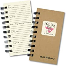 product image for Girls Only, A Teen Journal – MINI Kraft Hard Cover (prompts on every page, recycled paper, read more...)